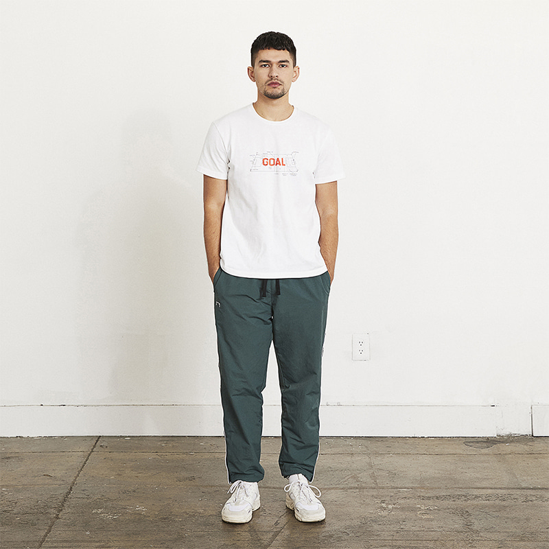 SMALL LOGO TRACK PANTS