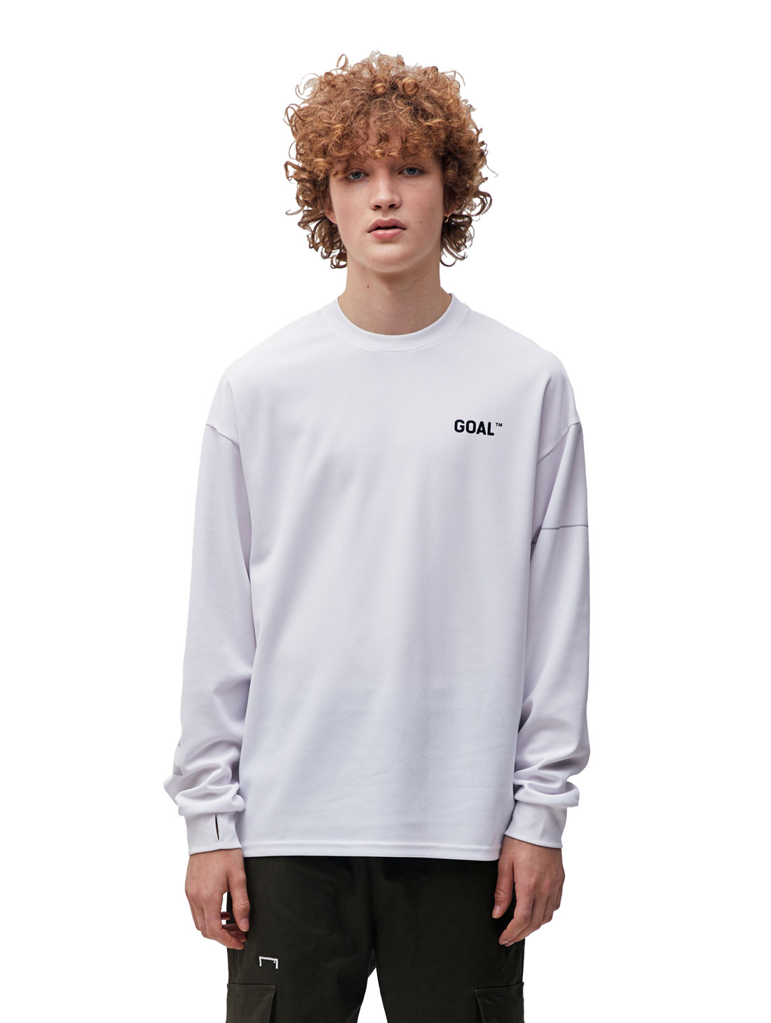 RESPECT LONG SLEEVE TEE - WHITE