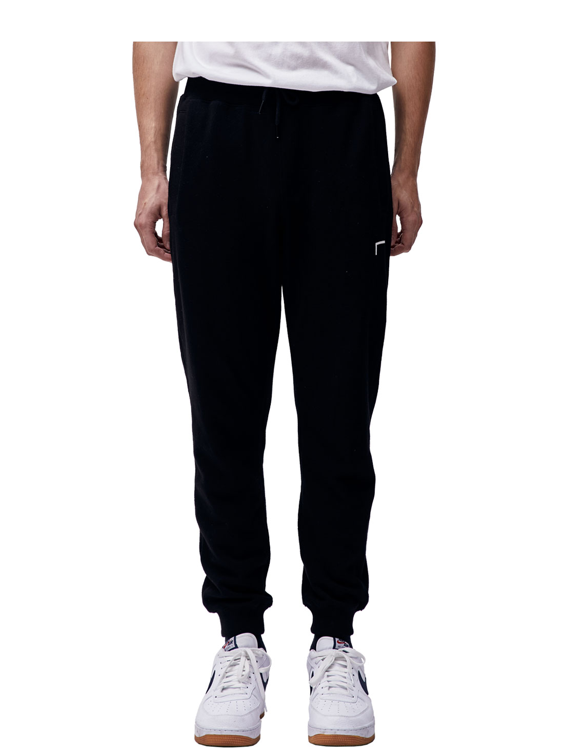 GOAL KNIT JOGGER PANTS - BLACK