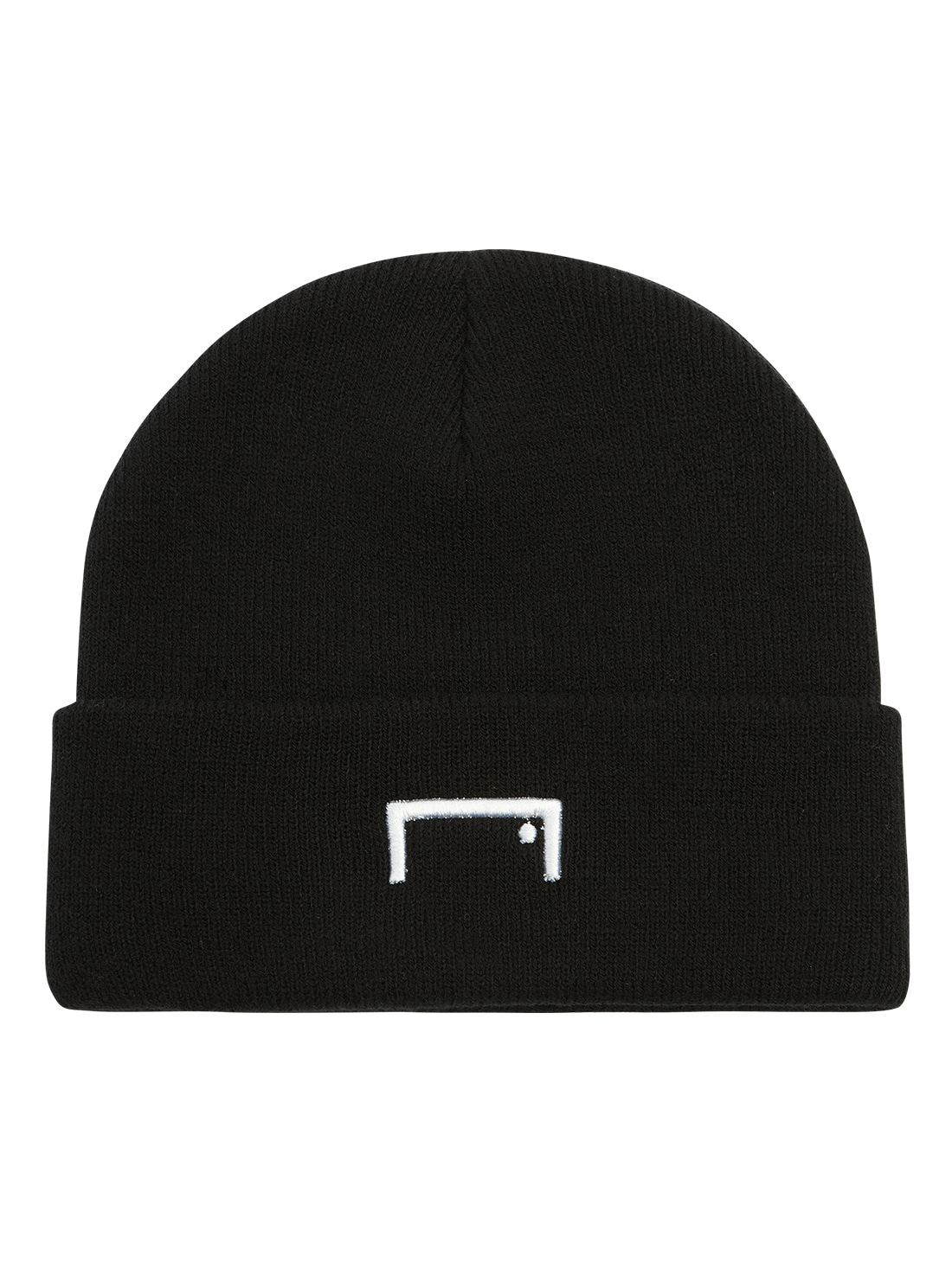 RESPECT LABEL BEANIE - BLACK