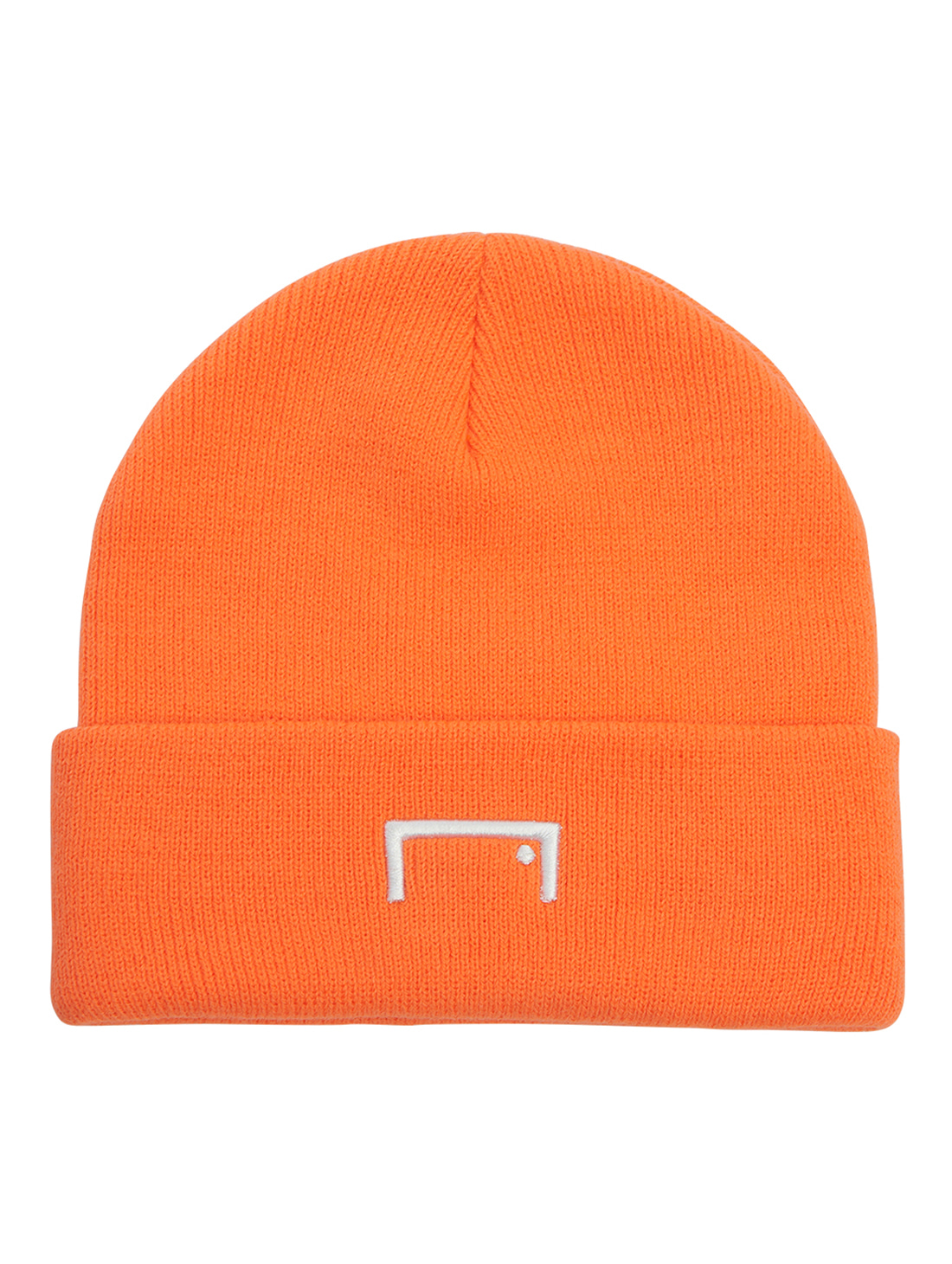 RESPECT LABEL BEANIE - ORANGE