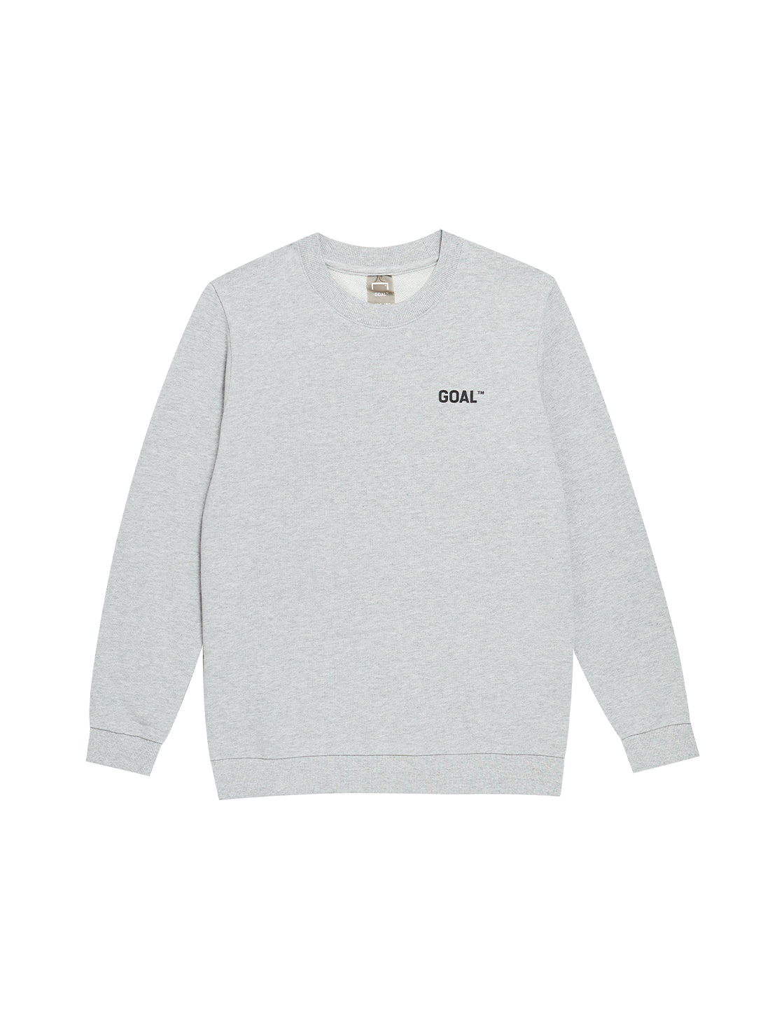 (KIDS) BACK LOGO SWEATSHIRTS - GREY