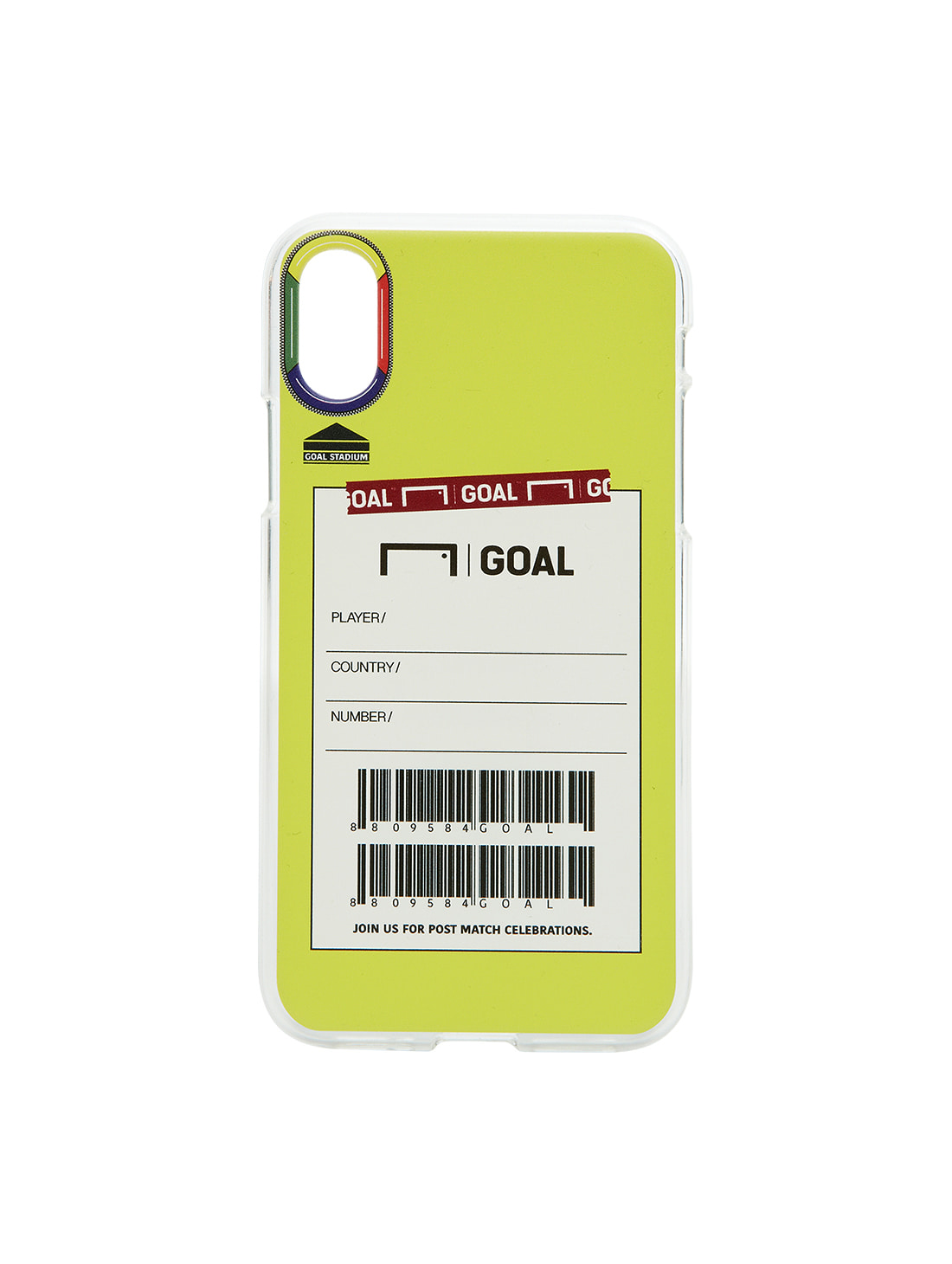 GOALSTUDIO CUSTOM PHONECASE - LIME(iPhone)