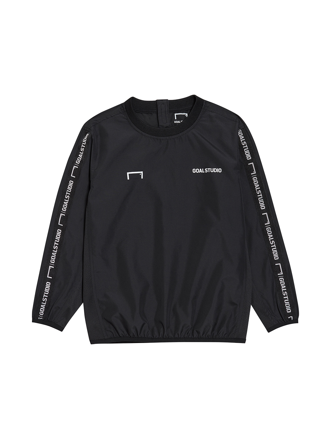 (KIDS) WIND PULLOVER - BLACK