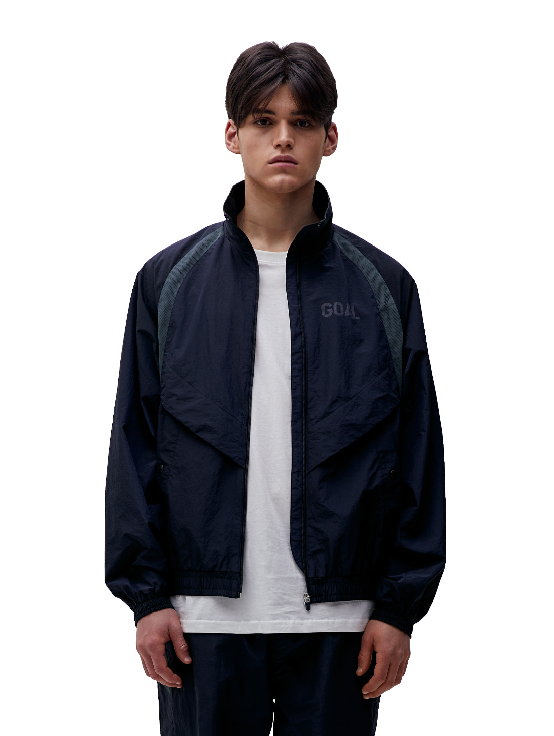 WARMUP JACKET - NAVY