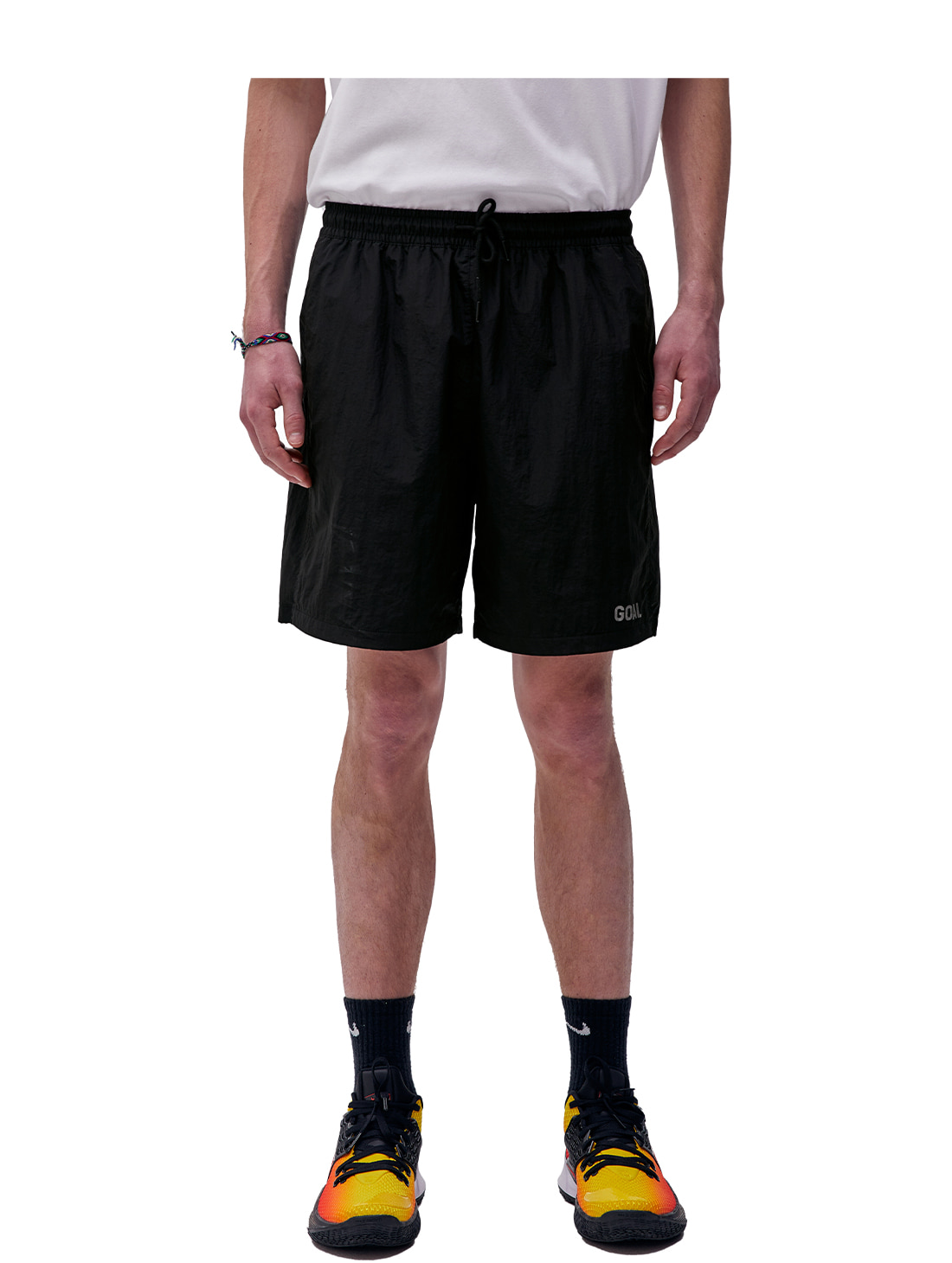 SOLID SHORTS - BLACK
