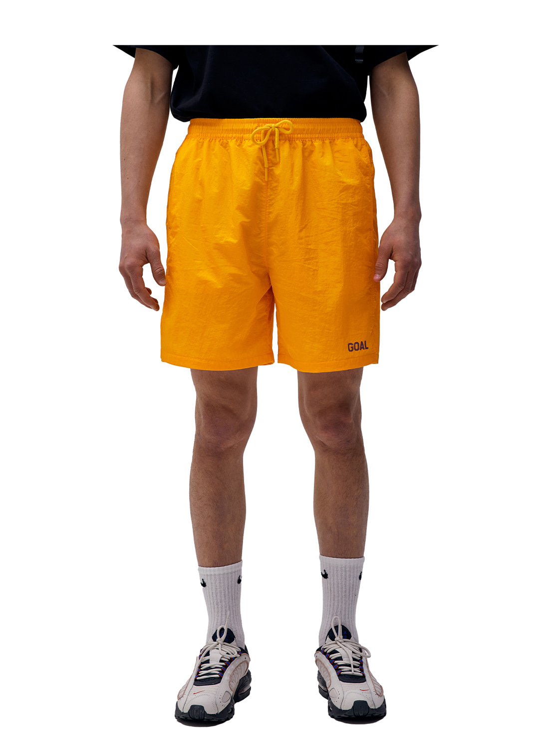 SOLID SHORTS - ORANGE