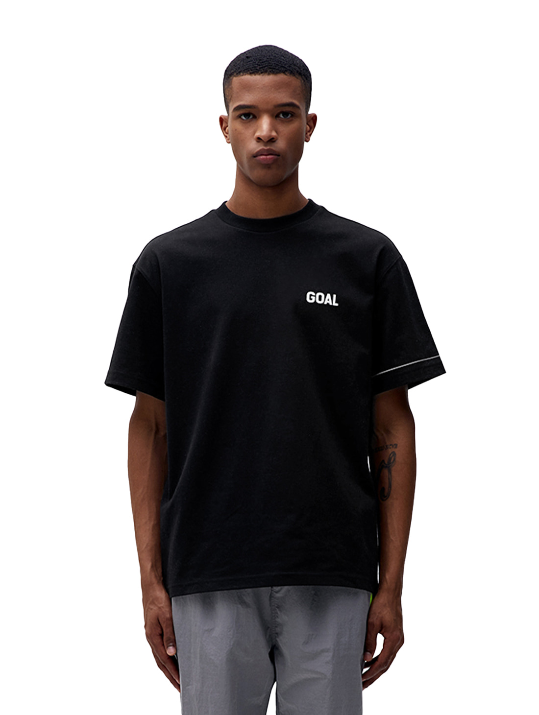 LTG SHORT SLEEVE TEE - BLACK