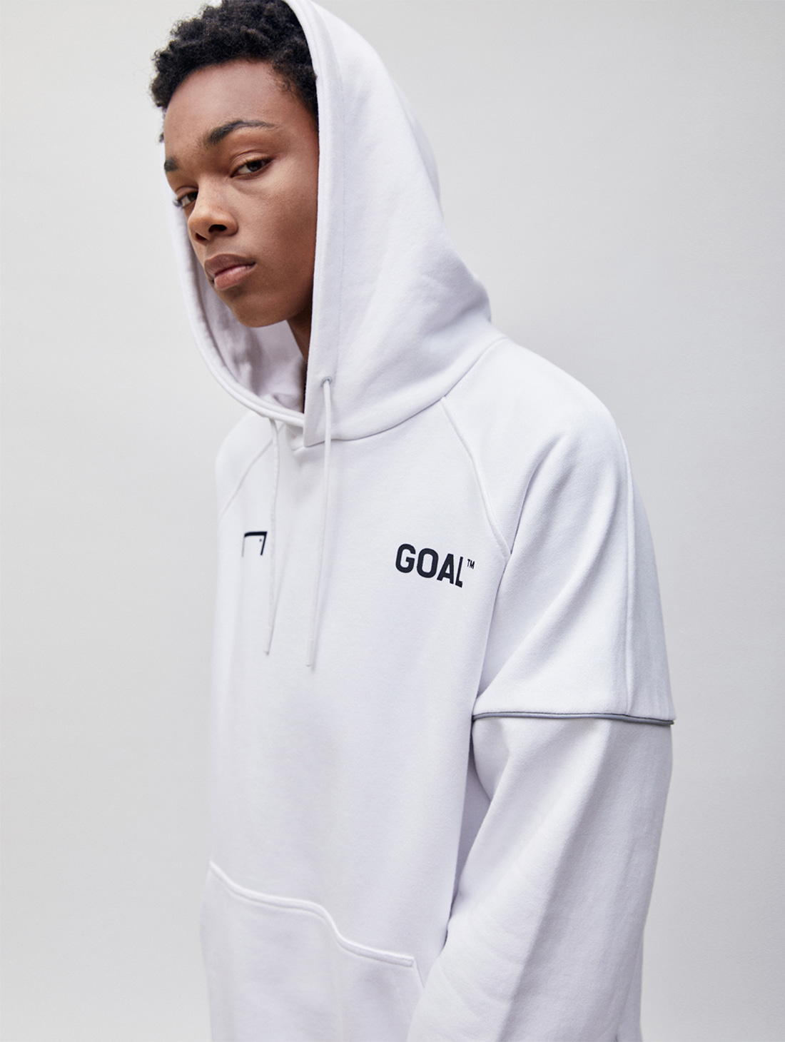 RESPECT HOODIE - WHITE