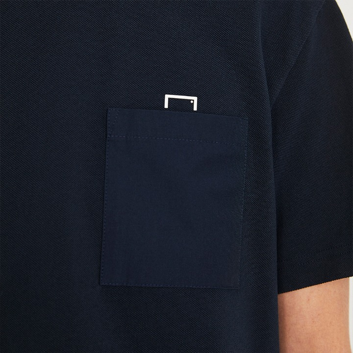 SMALL LOGO POCKET TEE
