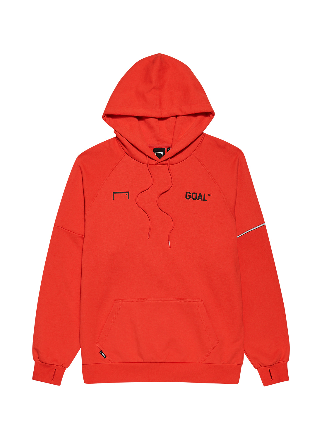 RESPECT HOODIE - ORANGE