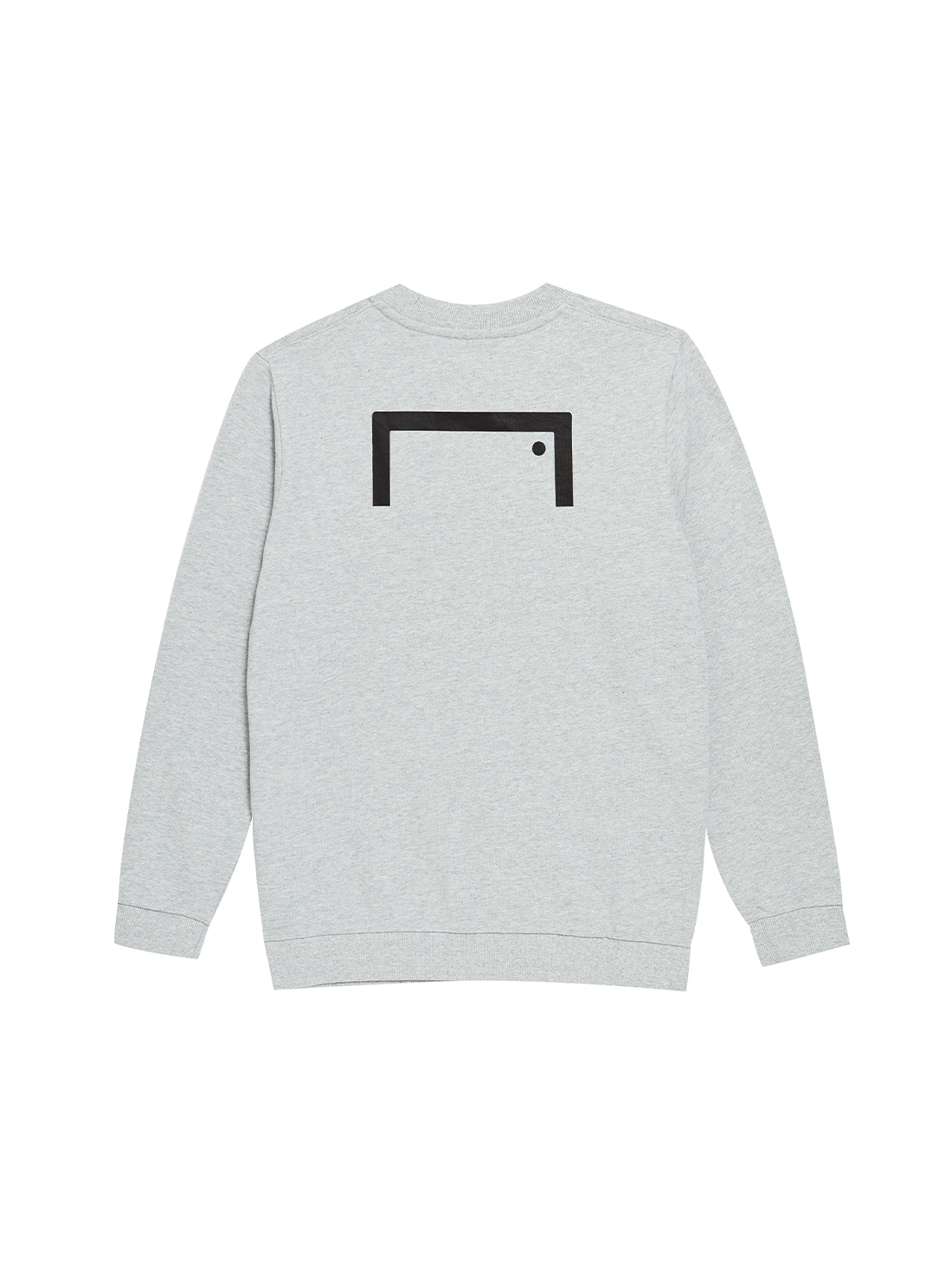 (KIDS) BACK LOGO SWEATSHIRTS - GRAY