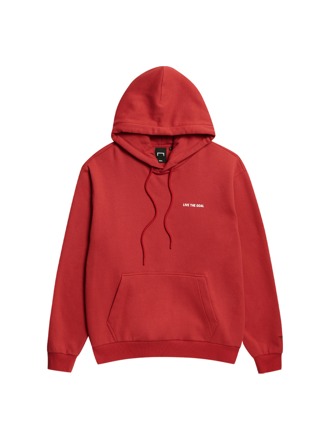 LIVE THE GOAL HOODIE - RED