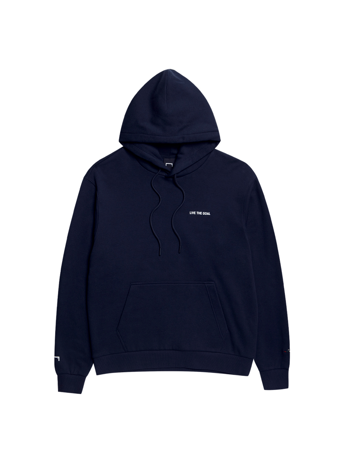 LIVE THE GOAL HOODIE - NAVY