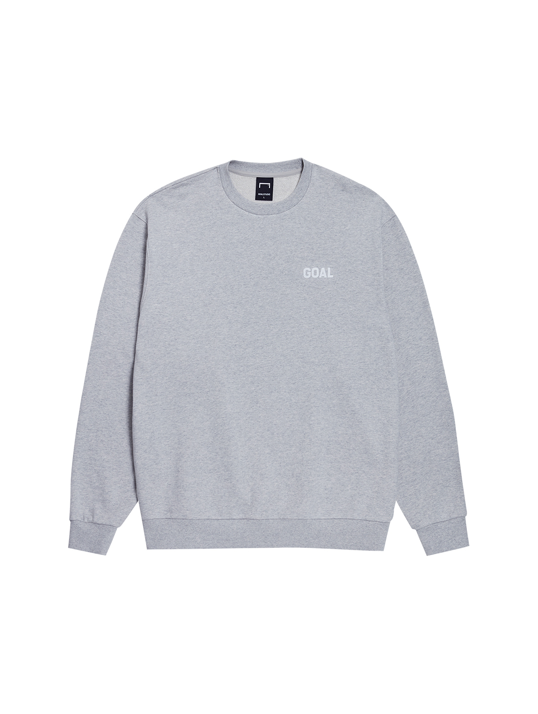 FLOCKING SWEATSHIRT - GREY