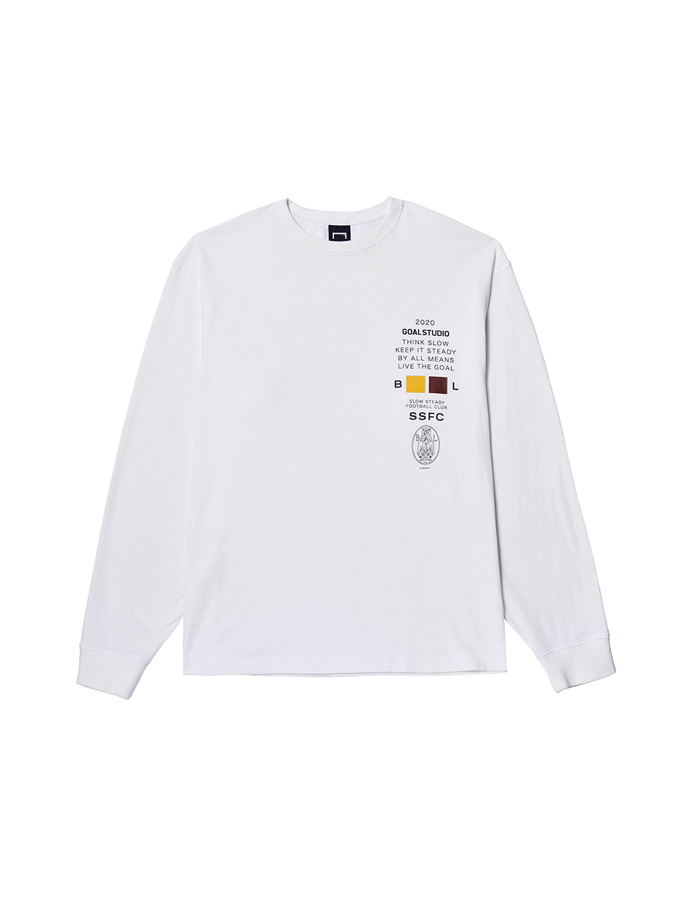 SSFC JERSEY SINGLE LONG SLEEVE - WHITE