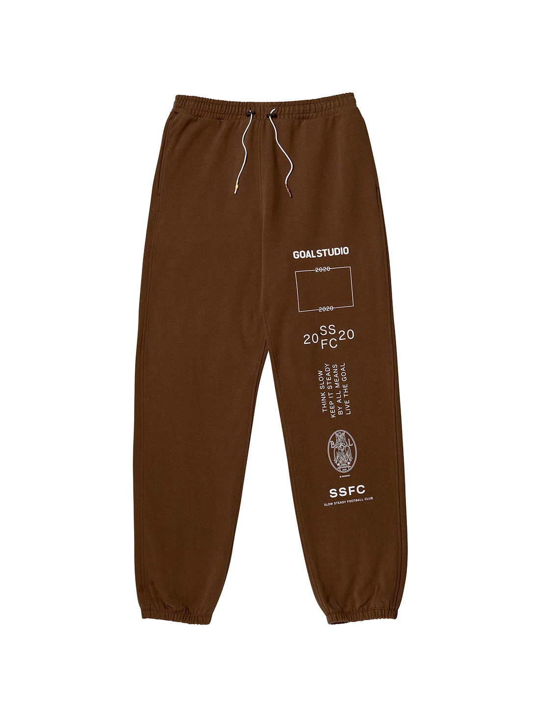 SSFC JERSEY PANTS - BROWN