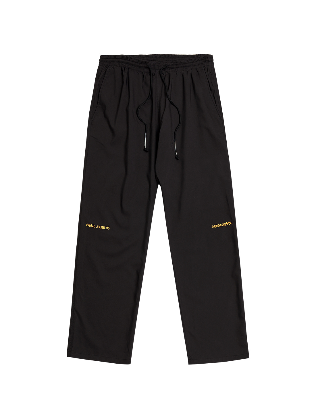 MC WOVEN PANTS - BLACK