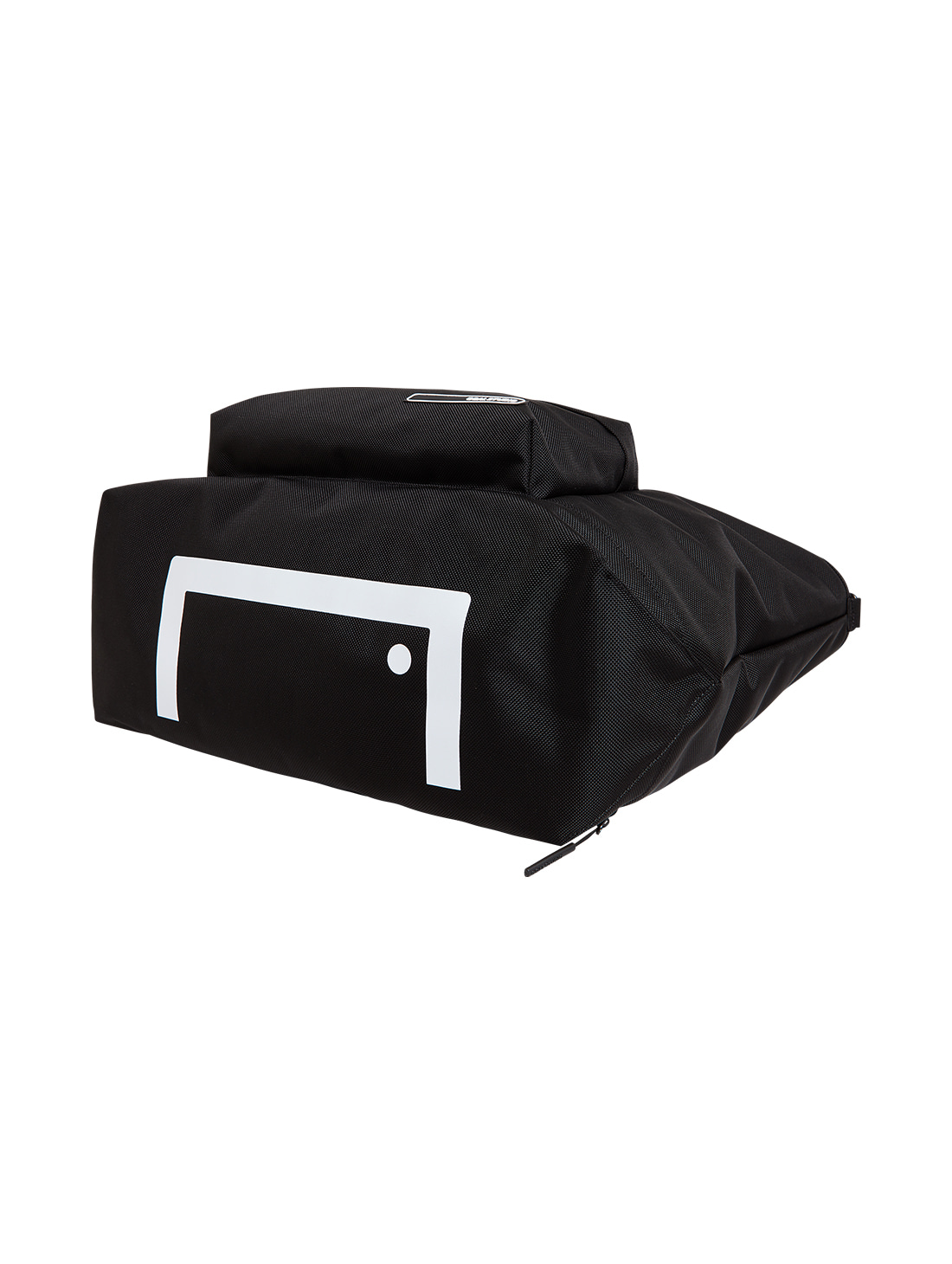 LOGO WAPPEN TOTE BAG - BLACK