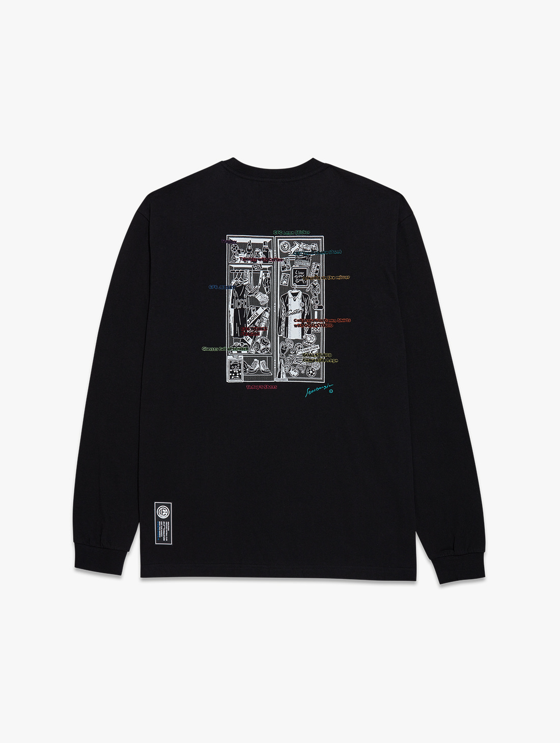 CFC LOCKER ROOM LONG SLEEVE TEE