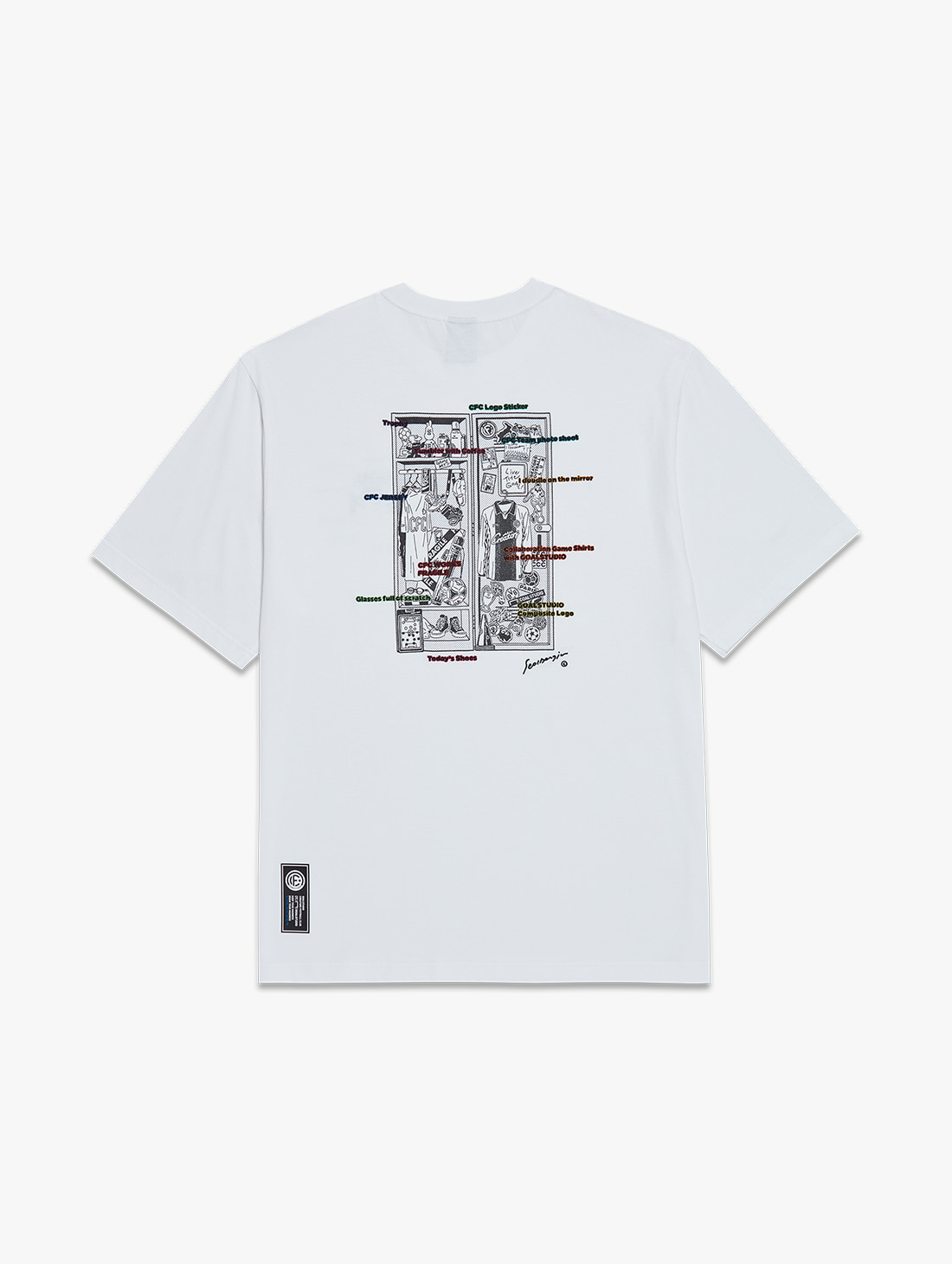CFC LOCKER ROOM TEE (2 Colors)